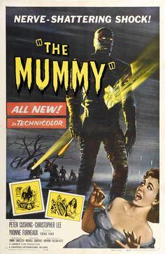 Hammer Horror THE MUMMY 1959 Portrait