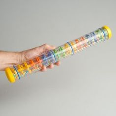 Hold the tube vertically and watch the colorful beads cascade down.Visual tracking aid and shows cause and effect. Baby Sensory, Sensory Toys, Special Needs Toys, Sensory Bottles, Cause And Effect, Fine Motor Skills, Educational Toys, Adhd, Autism