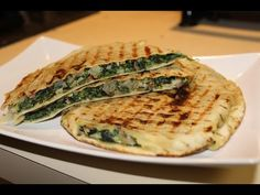 The culinary corner: Pita breads with cottage cheese and Spinach