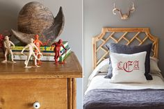 Treasure hunter and decorator Carla Edgeworth's creativity and practicality produced the eclectic style found in this family-friendly home.
