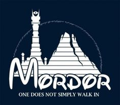 Great land of Mordor...