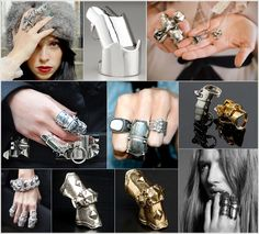 I still need to find one of these in San Diego. I should have picked one up back home. Armor rings a la Vivienne Westwood.
