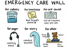 More ideas for your emergency care list