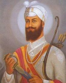 Guru Hargobind was born at Wadali village in June 1595 and was the only child of Guru Arjan Dev. He was invested with the Guruship on May 25, 1606 just days before his fathers martyrdom.