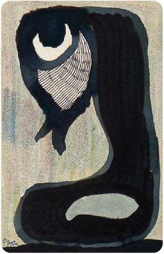 Zeichnung von Pierre Albasser auf einen Bierdeckel