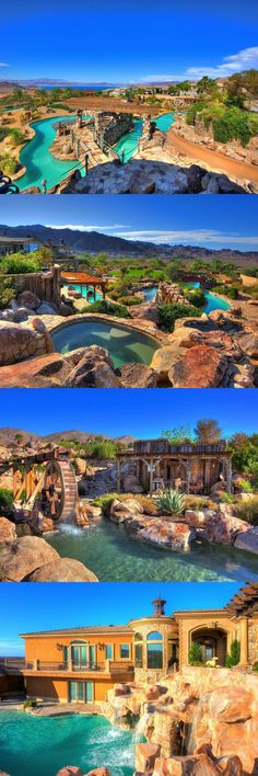 Luxury house in Nevada features its own water park $3,000,000