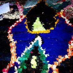 New rug from Marrakech, Morocco, Berber rag rug
