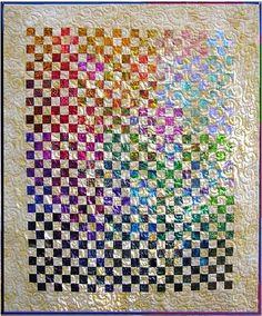 Glowing Nine Patch Quilt Pattern, Vicki Stratton, #109