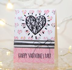 Such a sweet card by Caryn from the Simon Says Stamp February Card Kit!