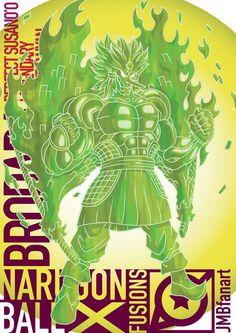 Brodara Perfect Susano'o Legendary Super Saiyan by JMBfanart
