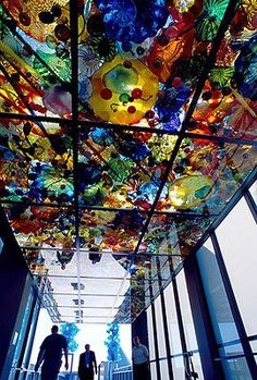 Chihuly Bridge of Glass in Tacoma | Chihuly Bridge of Glass in Tacoma |