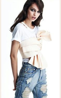 Le Fashion Blog New Way To Wear Bustier Crop Top White Cut Out Tee Distressed Boyfriend Jeans photo Le-Fashion-Blog-New-Way-To-Wear-Bustier-Crop-Top-White-Cut-Out-Tee-Distressed-Boyfriend-Jeans.jpg