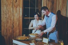 Lindsey & Kenan | Cotton Dock at Boone Hall Plantation | The Wedding Row | The Wedding Row