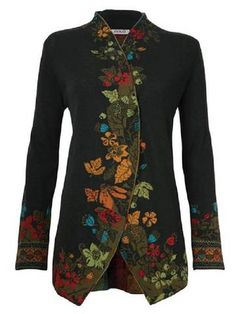 SPU:JWJOU9J51B8Sleeve Type:Long SleeveDecoration:EmbroideryThickness:HeavyweightMaterial:Cotton-blendNeckline:Stand CollarOccasion:DaytimeStyle:CasualTheme:Winter,Spring,FallColor:Wine Red,BLACK1,Black,BlueSize:S,M,L,XL,XXL,3XL,4XL,5XLShoulder (cm):S:40, M:41, L:42, XL:43, XXL:44, 3XL:45, 4XL:46, 5XL:47Bust (cm):S:105, M:110,...