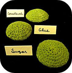 Techniques for Stiffening Crochet ❥ 4U // hf