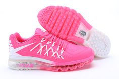 Nike Air Max 2015 Pink Silver Womens 2015 Running Shoes - Click Image to Close
