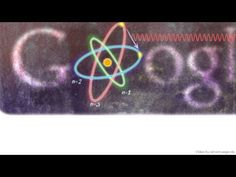 Niels Bohr Google Doodle #math #physics Google honors the physicist Niels Bohr with an Google Doodle. It is the 127th birthday of Niels Bohr. He made foundational contributions to understanding atomic structure and quantum mechanics.
