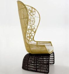 crinoline chair by patricia urquiola