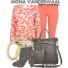 Inspired by Janel Parrish as Mona Vanderwaal on Pretty Little Liars.