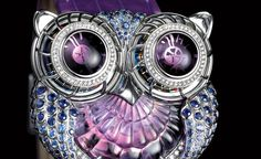Boucheron | Max Busser's Owl Watch in collaboration with Boucheron