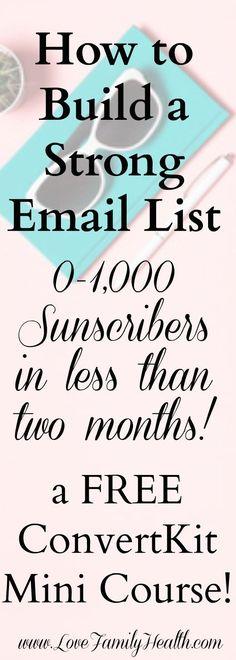 How to rapidly grow your email list and get more subscribers! Confira dicas, táticas e ferramentas para E-mail Marketing no Blog Estratégia Digital aqui em http://www.estrategiadigital.pt/category/e-mail-marketing/