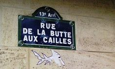 La rue de la Butte-aux-Cailles  (Paris 13ème)