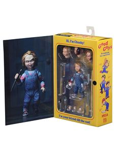 Neca Ultimate Chucky Good Guy Doll Action Figure Toy Authentic New Child's Play 634482421123 Figurines D'action, Halloween Look, Halloween Makeup, Good Guy Doll, Horror Action Figures, Childs Play Chucky, Barbie Toys, Sport, Vinyl Figures