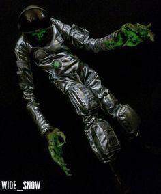 3ALegion feature: recently shipped EVENFALL   Engineer GID With Silver Suit, photographed by wide_snow (http://instagram.com/wide_snow). #threeA #AshleyWood #AshleyWoodArt #WorldOf3A #WO3A #EVENFALL #Strigoi #3ALegion