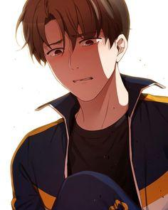 He broke my heart with this expression He Broke My Heart, My Heart Is Breaking, Shonen Ai, A Guy Like You, Syaoran, Fanarts Anime, Manhwa Manga, Animal Crossing Qr, Fujoshi