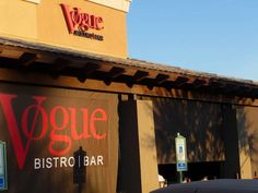 Vogue Bistro in Surprise, AZ. Our date night spot, always ordering Chef Aurora's specials