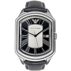 Emporio Armani Classic AR0289 Ρολόι ανδρικό -GEORGATOS.gr Emporio Armani, Watches, Classic, Derby, Wristwatches, Clocks, Classic Books