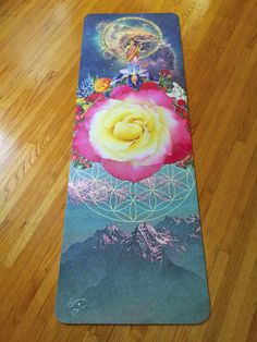 Lakshmi Rose Portal * Starwater Yoga Mat