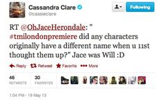 that would've been pure evil and mockery...I would die :/ Thank you for picking Jace instead...