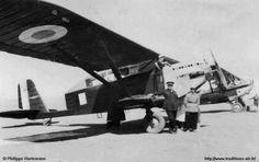 Breguet 27 | Le Général Pennés, sur un Bréguet 27, à Flatters en 1937