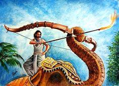 Bahubali 2 - Drawing Prabhas - 3D drawing of Prabhas   Realistic drawing Prabhas   Drawing Devasena - Anushka Shetty   Incredible scene of Bahubali 2 3d Drawings, Realistic Drawings, Illusion Tricks, Prabhas And Anushka, Bahubali 2, 3d Street Art, 3d Painting, Art Tips, Illusions
