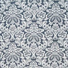Warwick Fabrics : GRACE, Colour BLUEBERRY