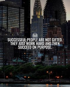 Is not about talent or luck, just pure hard work, remember that! #millionairementor