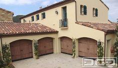Spanish Colonial 11 | Custom Architectural Garage Door