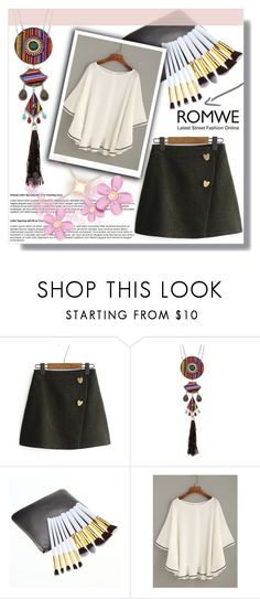 """""""ROMWE 8"""" by melisa-hasic ❤ liked on Polyvore"""