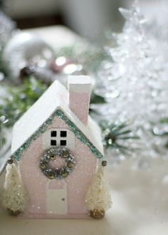 All Things Shabby and Beautiful...we love these little houses