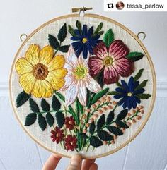 @tessa_perlow #bordado #ricamo #embroidery #broderie #handembroidery #needlework