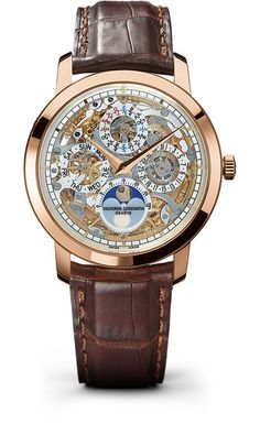 Vacheron Constantin Traditionnelle Perpetual Calendar Skeleton Dial Men's Watch 43172/000R-9241