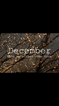 Christmas Is Coming So Decembe Please Make My Wishes Come True