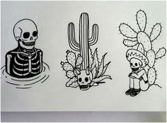 alternative, skull, and art image Inspirational Tattoos, Tattoos, Ancient Art Tattoo, Future Tattoos, Americana Tattoo, Traditional Tattoo, Tattoo Drawings, Small Tattoos, Tattoo Designs