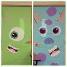 Classroom door ideas disney monsters inc 33 Ideas Classroom door ideas disney monsters inc 33 Ideas Halloween Dorm, Halloween Classroom Door, Disney Classroom, Halloween Door Decorations, School Decorations, School Themes, Monsters Inc Decorations, Monsters Inc Doors, Homecoming Hallways