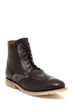 J.D. Fisk Phinney Wingtip Boot by J.D. Fisk on @nordstrom_rack