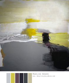 Oh goodness, do you have any idea how much I long to see these paintings in person?  I am a huge proponent of abstract art.  It is just so very interesting and leading and beautifully poetic……