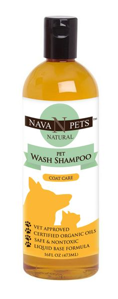 Nava Pets is very pleased to introduce an USDA Certified Organic Pet Shampoo to pet owners everywhere. Finally, a safe and nontoxic alternative to detergent and chemical cleaners is available for our furry friends. This wonderful product is perfect for sensitive pets. This eco-friendly natural liquid soap product is extraordinarily mild, hypoallergenic, and free of petroleum or animal by-products. It meets all USDA Organic Food Standards. This product is certified by NOFA and Vermont Organic…