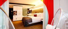 Pod Room - African Pride 15 on Orange Hotel Pride Hotel, Luxury Rooms, Marriott Hotels, Bunk Beds, African, Orange, Furniture, Cape Town, Design