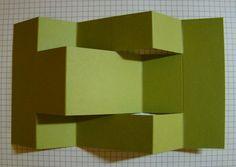 Qbee's Quest: Secret Garden Tri Fold Shutter Card Tutorial